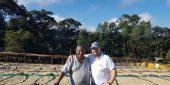 Richard and Ethiopian Farmer