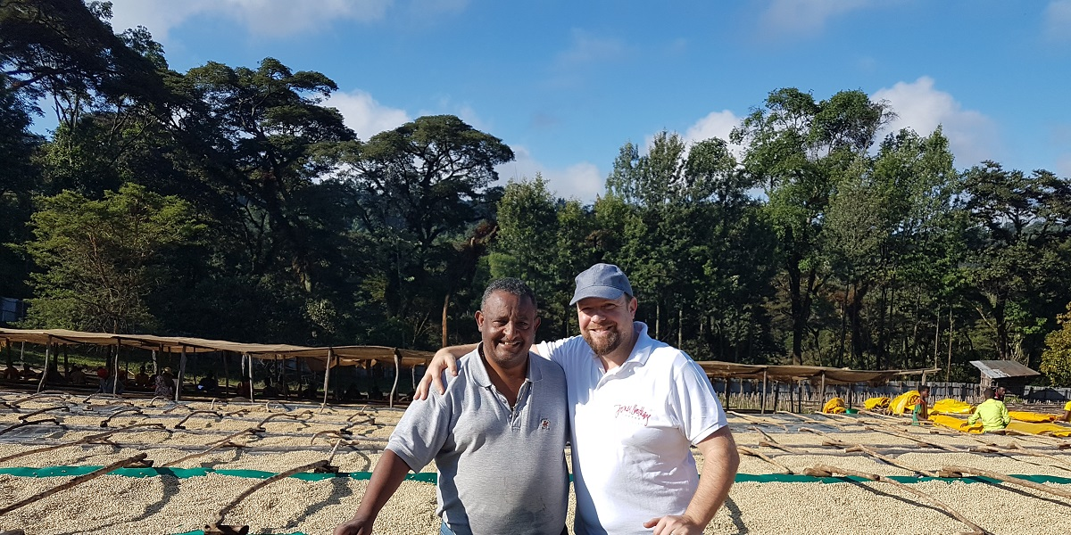 Richard and Ethiopian Farmer
