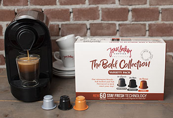 Capsules de café intenses