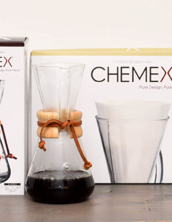 Chemex 3 cups with paper filters