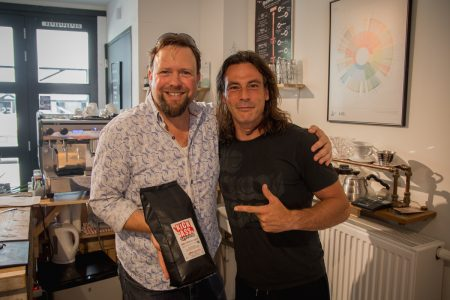 Alex De Saint and Jones Brothers Coffee