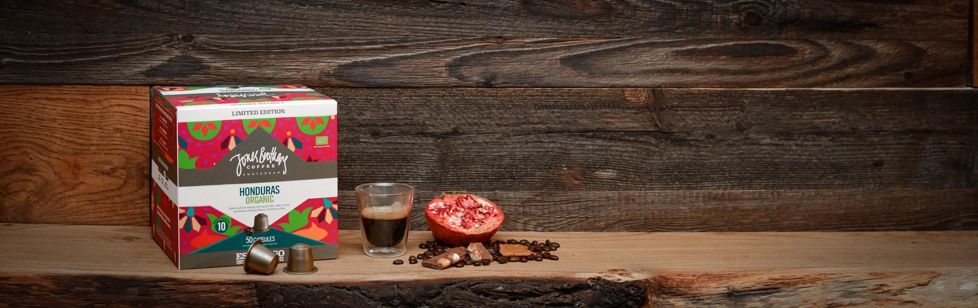 Honduras organic coffee 50x capsules | Jones Brothers Coffee