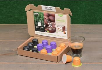 Discovery compostable coffee capsules