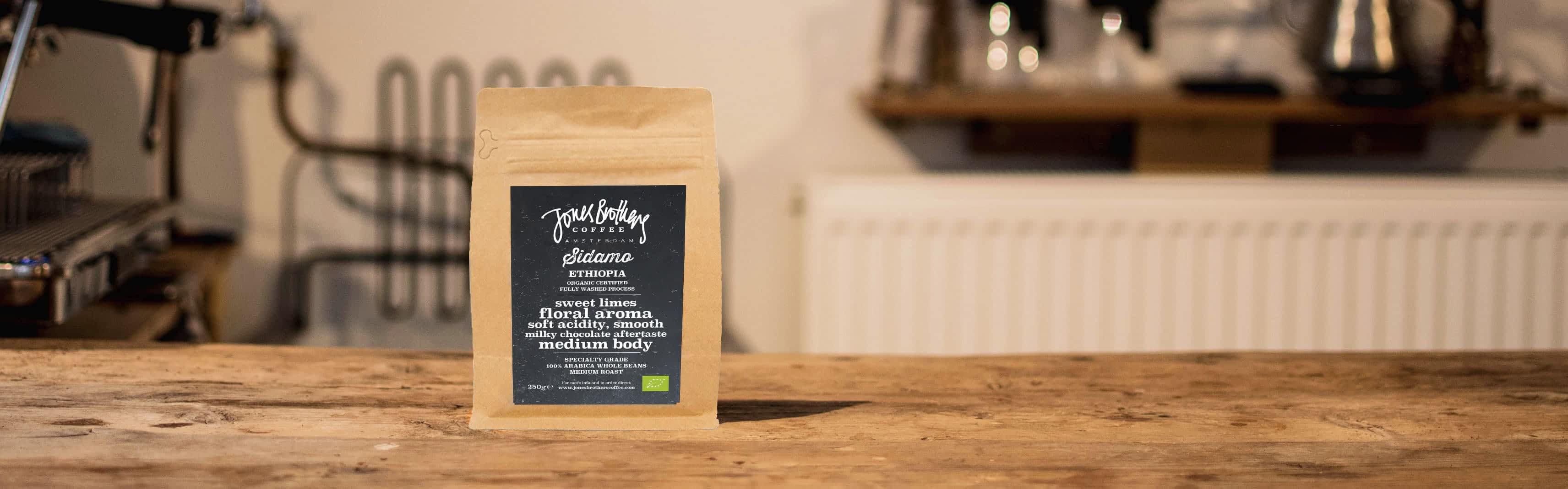 Ethiopia Sidamo specialty coffee