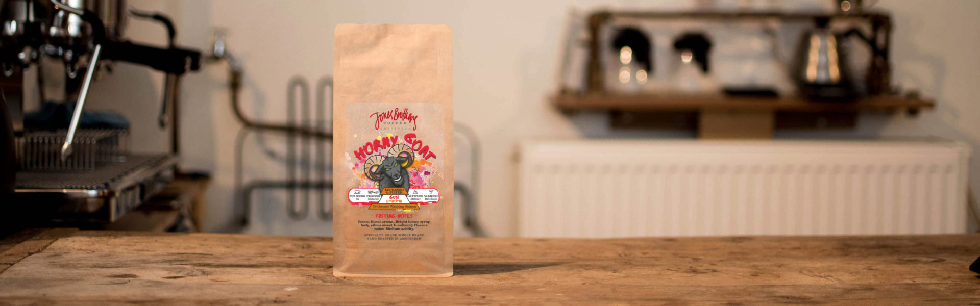Horny Goat Guji specialty coffee beans