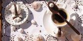 meringues café et chocolat