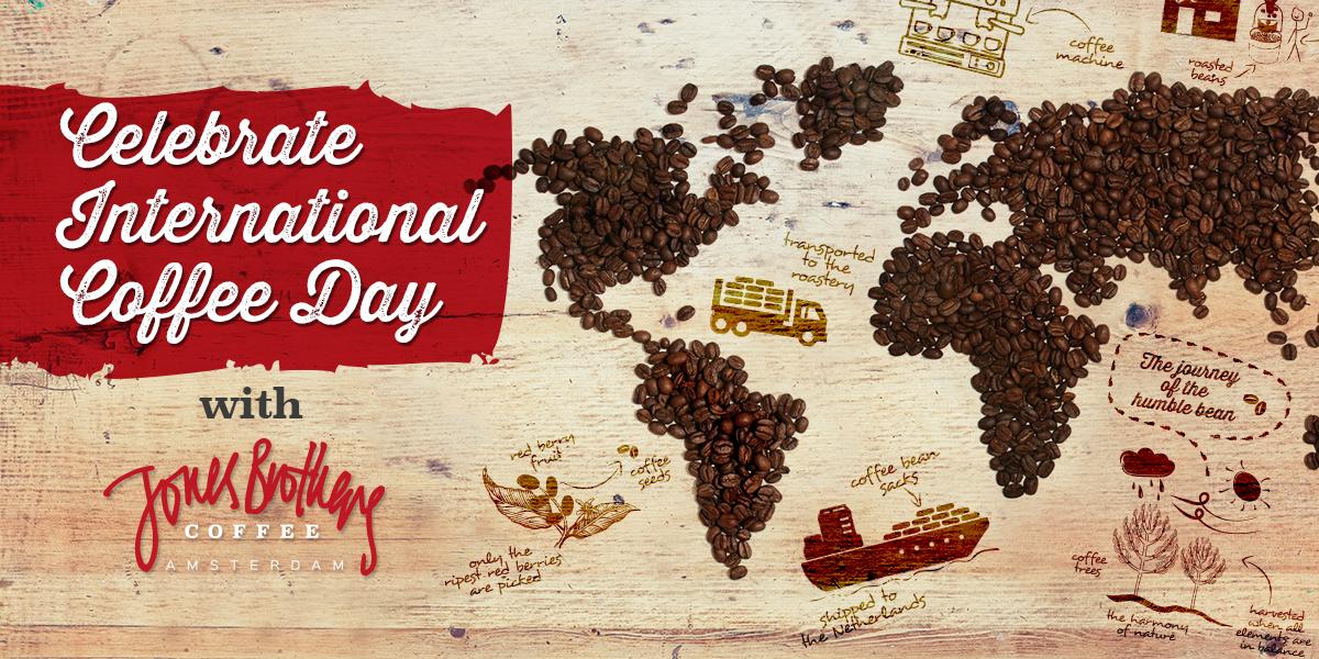 International Coffee Day | Jones Brothers Coffee