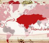 Honduras Coffee map