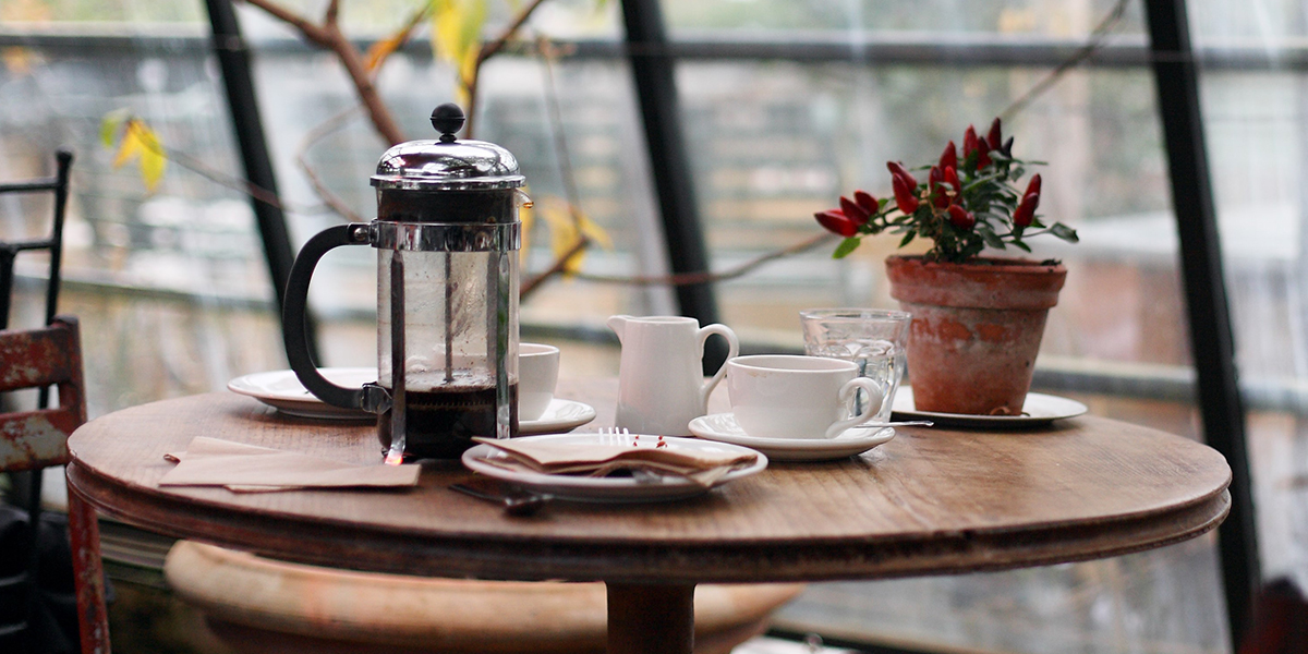 Cafetière koffie