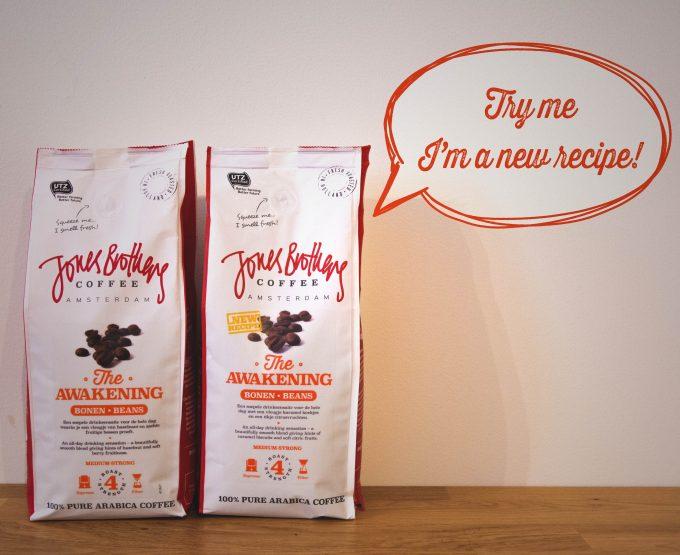New Awakening coffee beans recipe