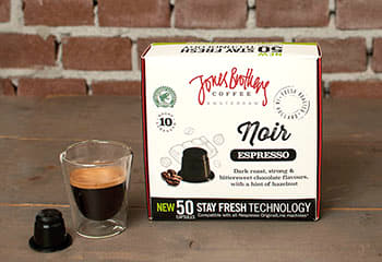 Noir coffee capsules XL