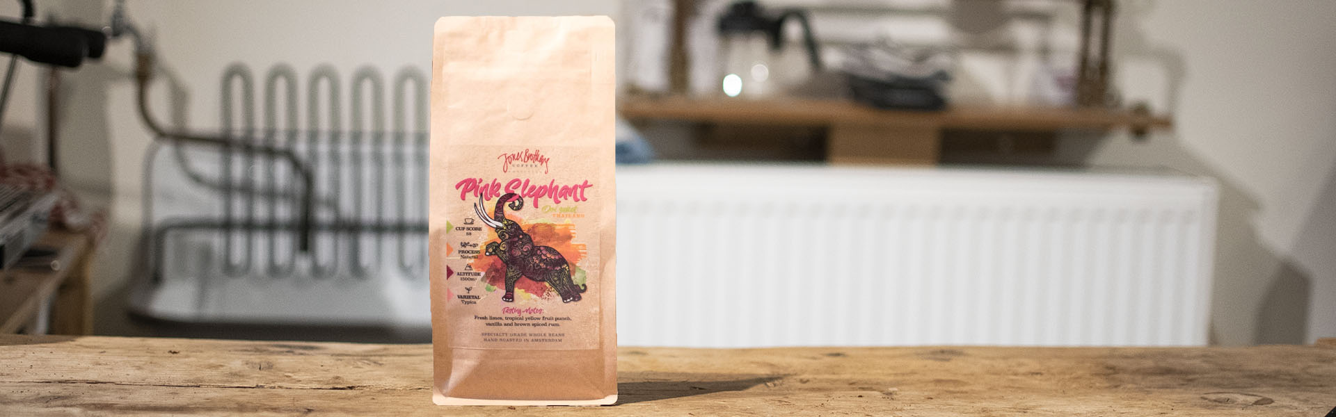 Pink Elephant Thailand specialty coffee