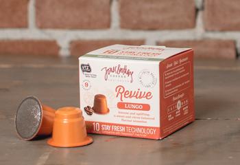 Intense Lungo koffiecups geschikt voor Nespresso machines