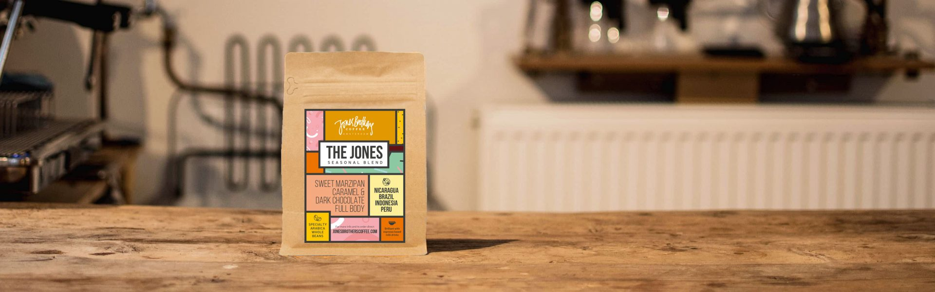 The Jones Blend | Jones Brothers Coffee