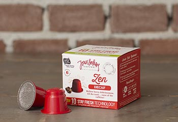 Zen decaf coffee capsules