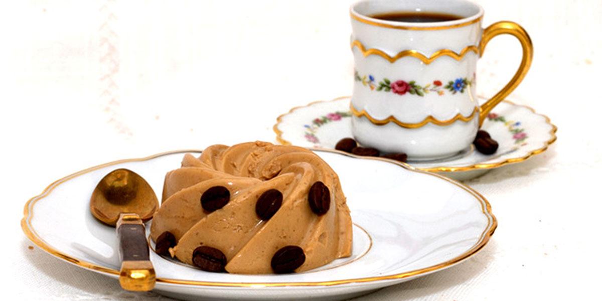 bavarois au cafe