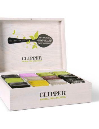 clipper tea box