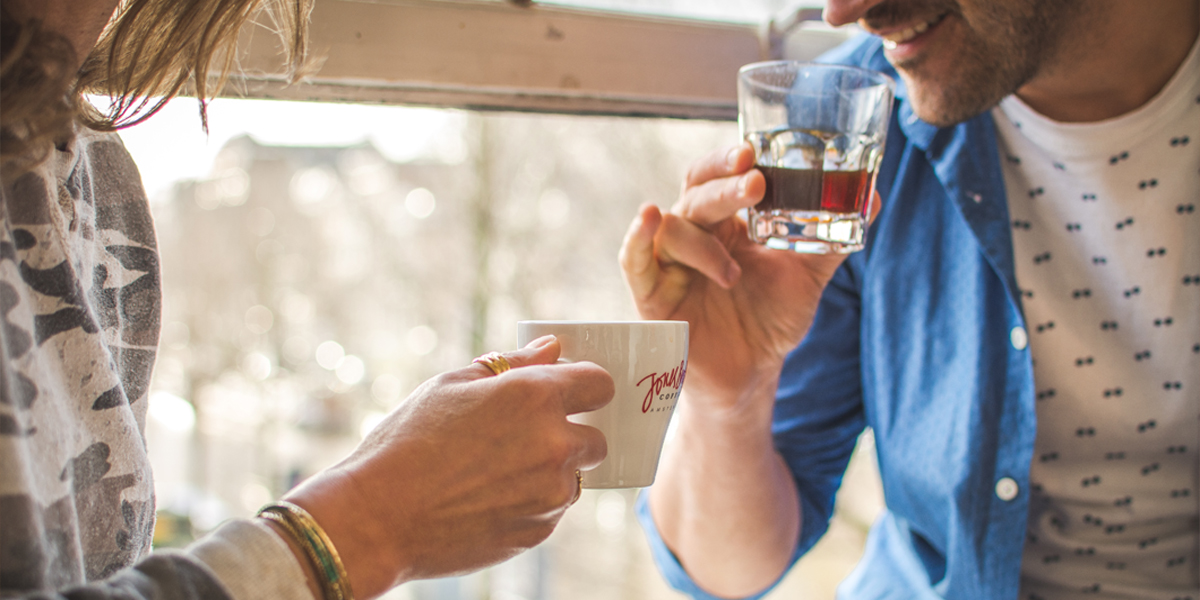 coffeedrinker | Jones Brothers Coffee