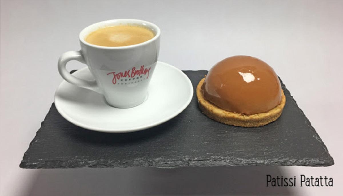 Domes au cafe et caramel