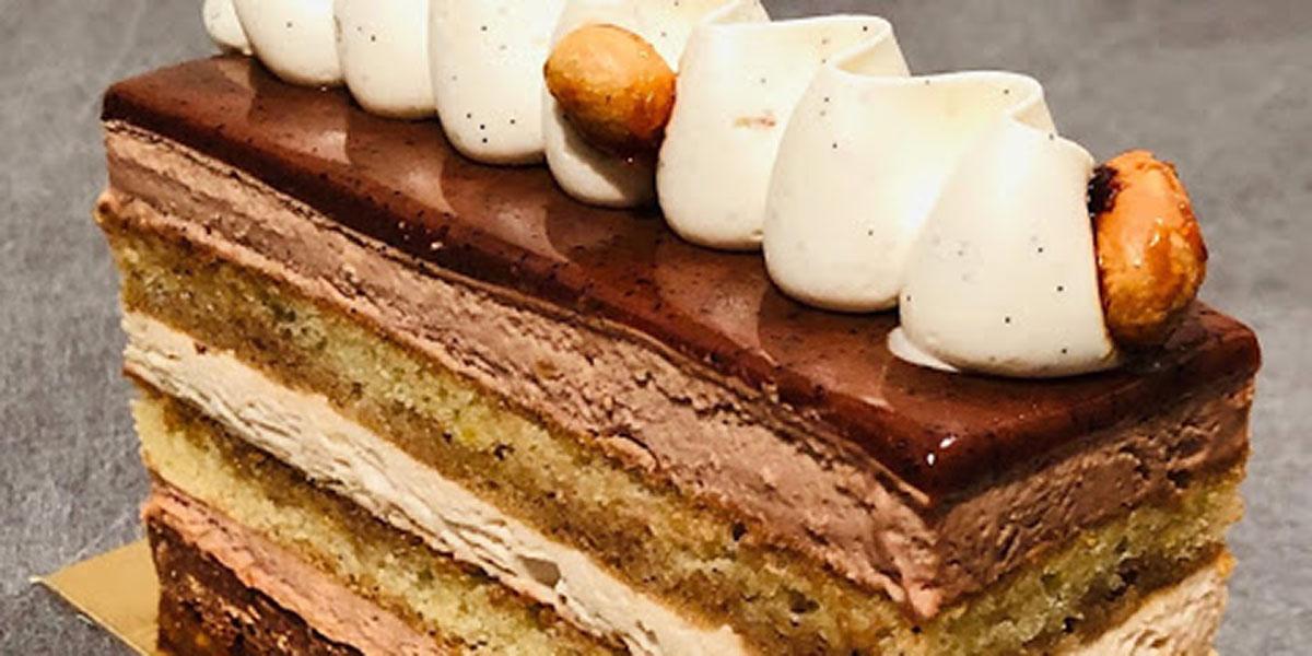 opera chocolat vanille café